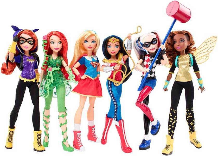 mattel_munecas_dc_super_hero_girls