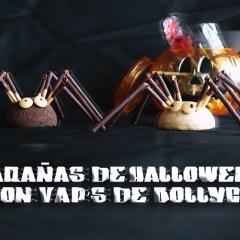Arañas de Halloween con Bollycao® Vap's®