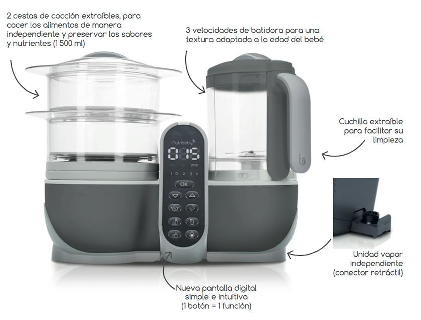 Genial robot para cocinar im genes kenwood cooking chef for Robot cocina lidl opiniones
