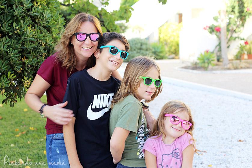 gafas de sol para niños