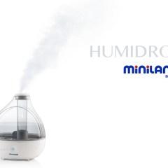 Humidrop, Nuevo Humidificador de Vapor Frío de Miniland