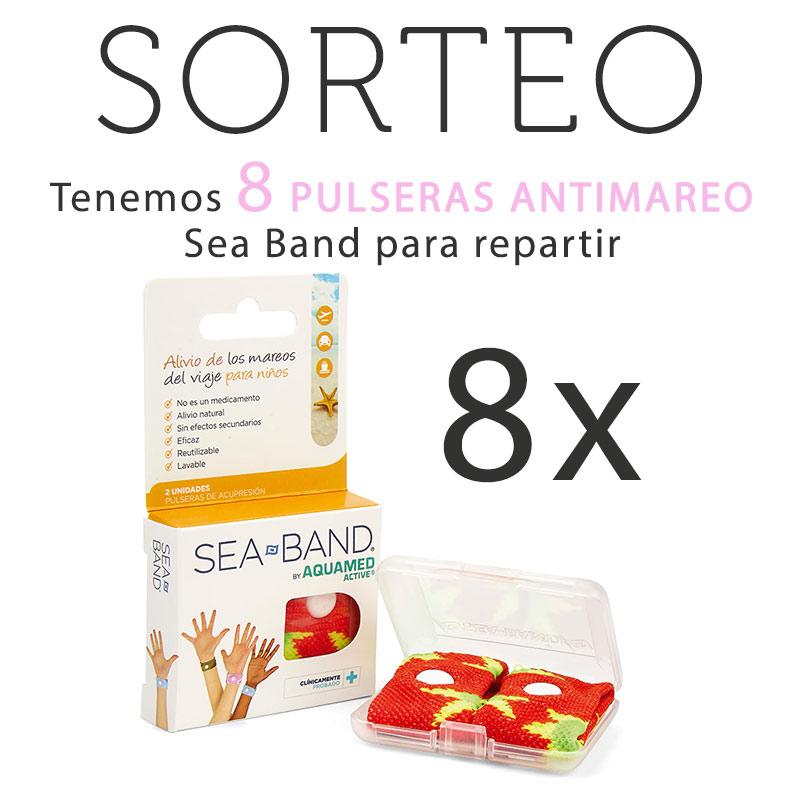 Pulseras Antimareo Sea-Band
