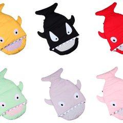Sacos de Dormir en Forma de Tiburón Para Bebés