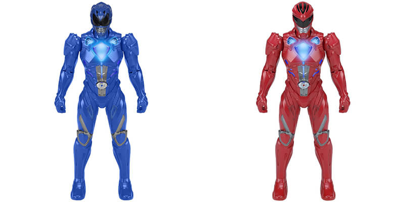 power rangers figuras
