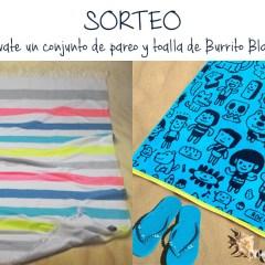 Toallas de Playa y Pareos Burrito Blanco