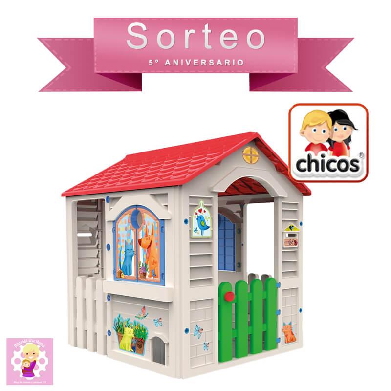 Casas de jard n de f brica de juguetes pintando una mam for Casa juguete jardin
