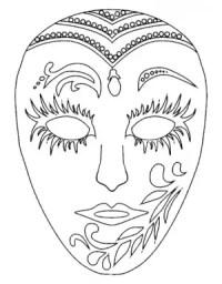Mascaras Carnaval Para Colorear E Imprimir Mascaras De