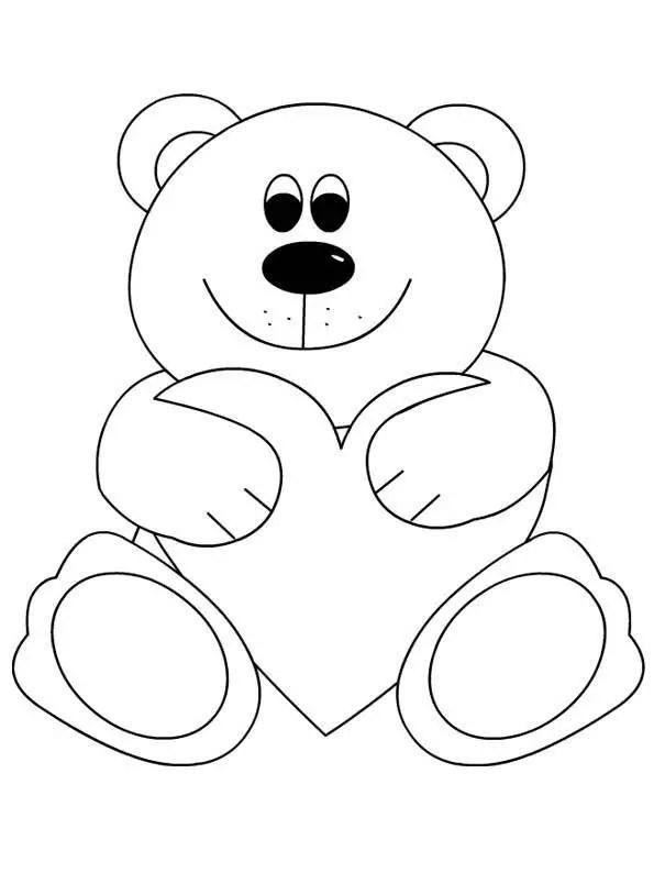 Polar Bear Face Mask Template