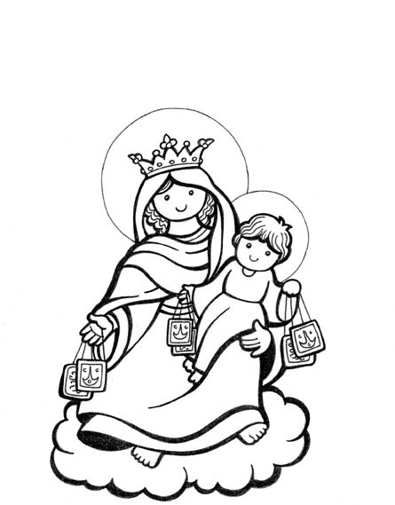 Carmen Sandiego Coloring Pages
