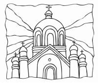Iglesia Para Colorear E Imprimir