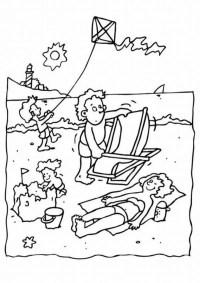 Dibujos Para Colorear De Campamento Dibujo De Campamento