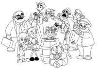 El Chavo Animado Para Colorear Dibujos Para Dibujar A