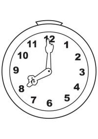 Dibujos de reloj para colorear e imprimir - Imagui