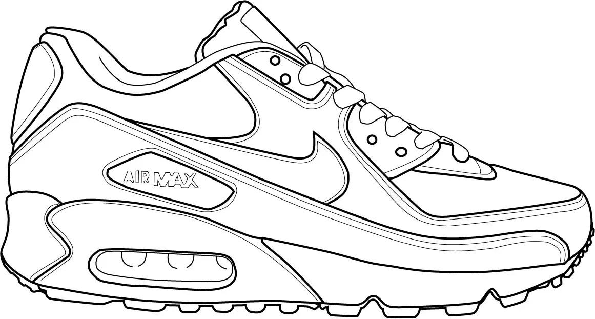 Zapatillas Para Colorear