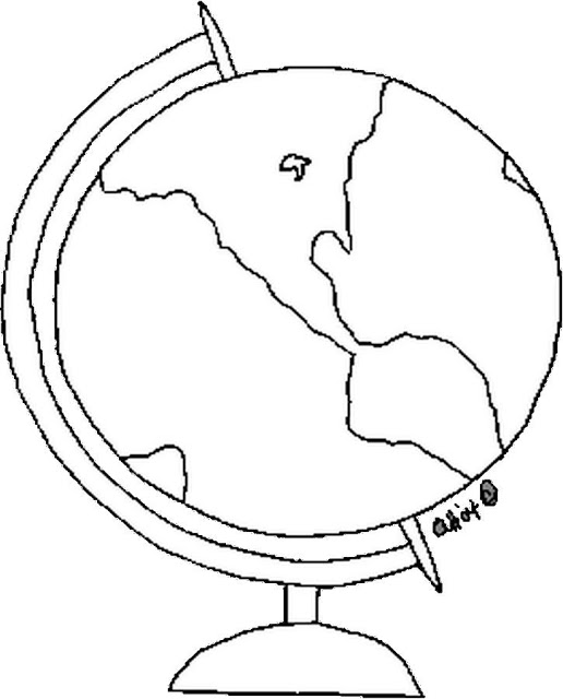 Globe Theater Coloring Page