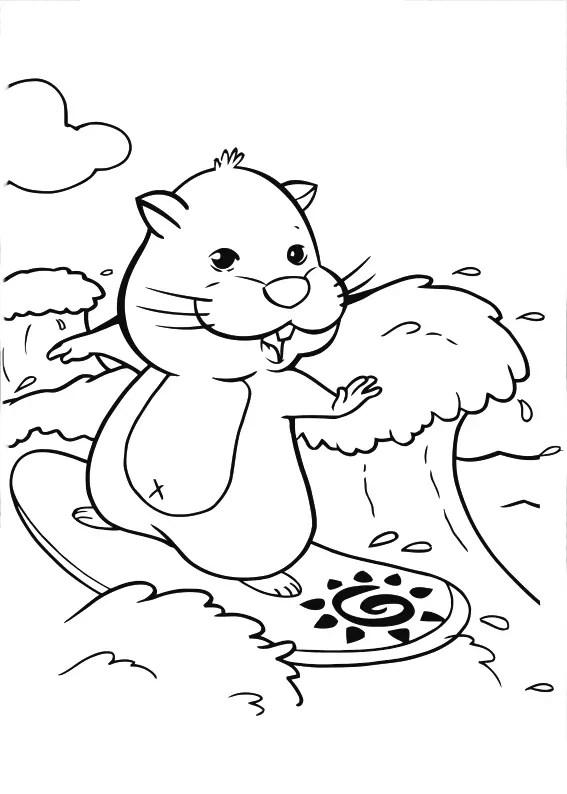 Dibujos De Zhu Zhu Pets Para Colorear E Imprimir