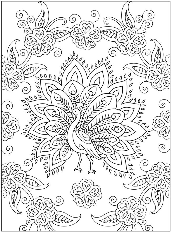 Mandalas de animales para colorear e imprimir