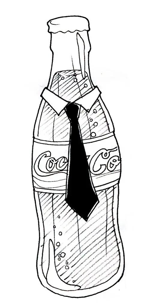 Dibujos De Coca Cola Para Colorear