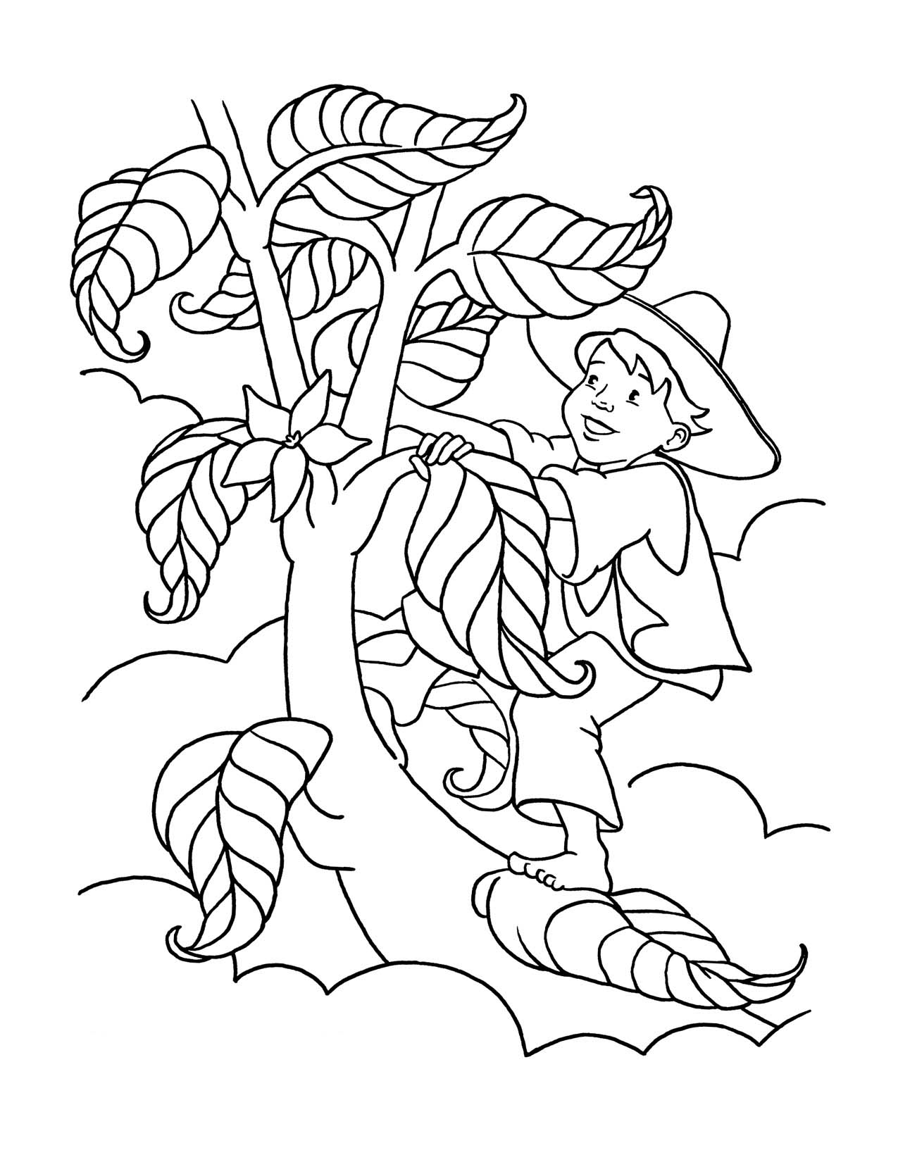 Plantas Para Colorear Pintar E Imprimir