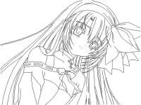 Juegos De Colorear Anime Anime Para Colorear Pintar E
