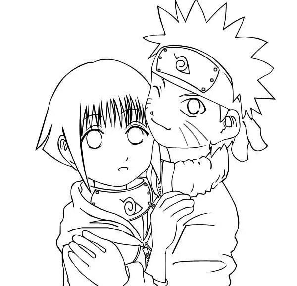 Naruto Kakashi Coloring Page