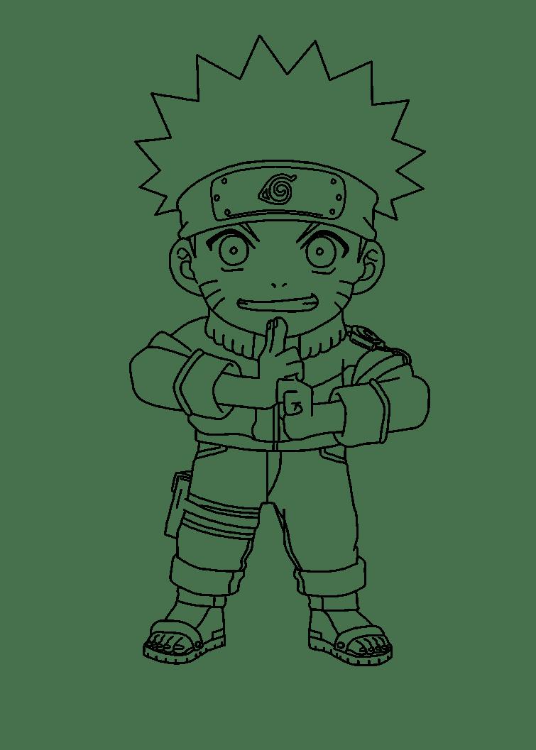Naruto Para Colorear Facil Resultado De Imagen Para Naruto Para
