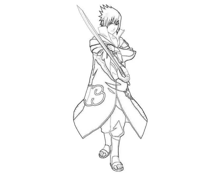 Imagenes De Naruto Para Colorear E Imprimir