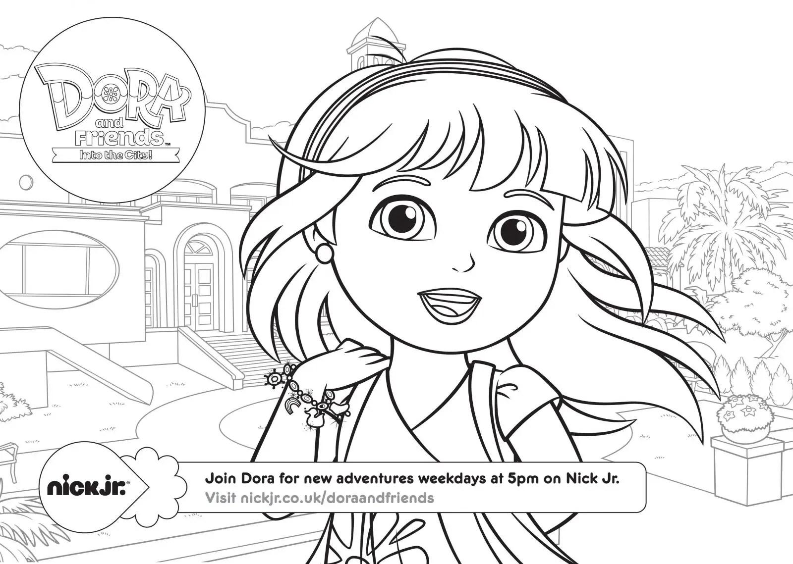 Dora Y Sus Amigos Para Colorear E Imprimir
