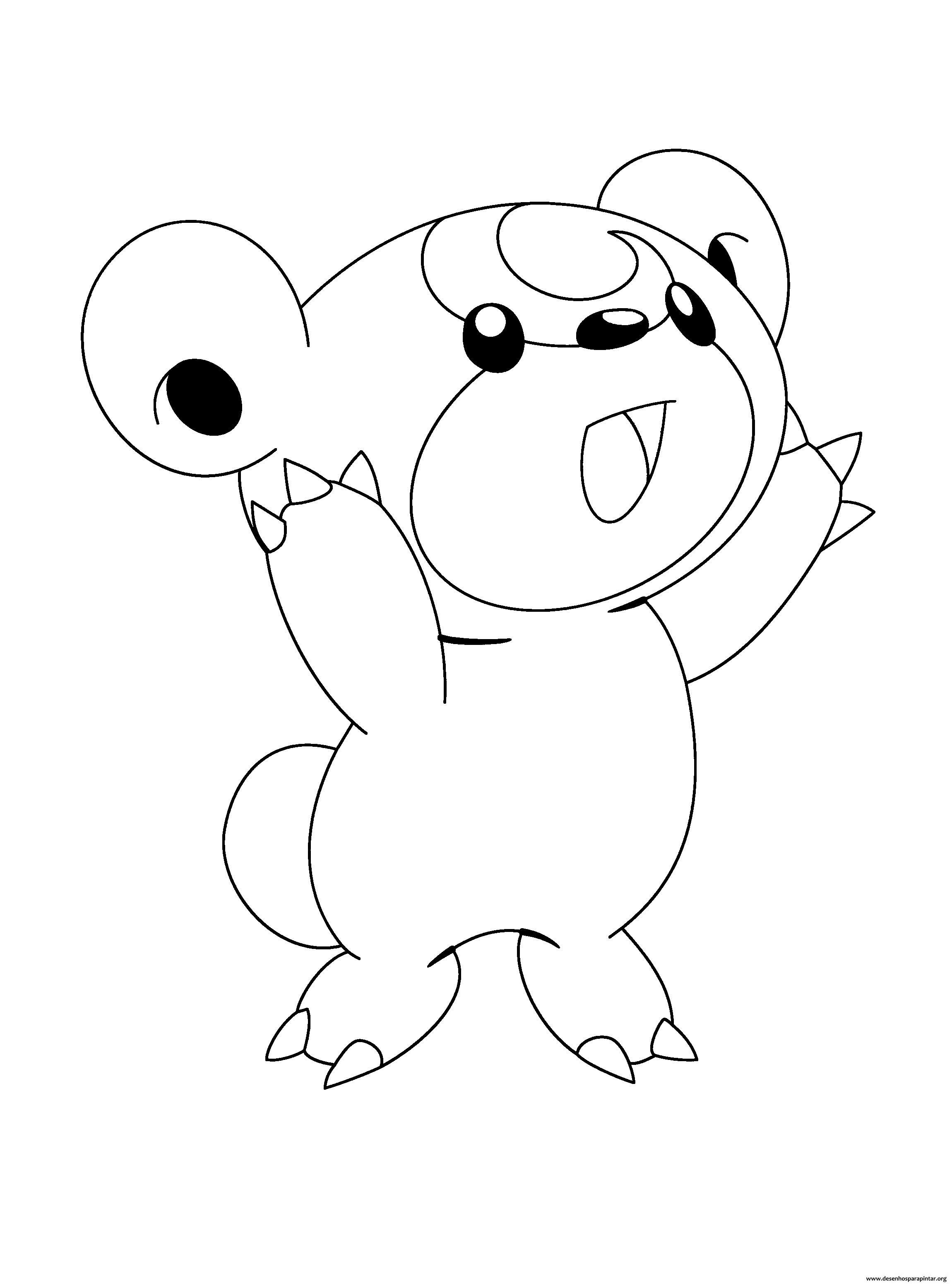 Desenhos Pokemon para imprimir, colorir e pintar