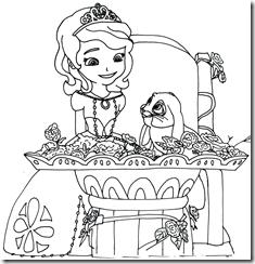 Princesas » Desenhos para Pintar e Colorir