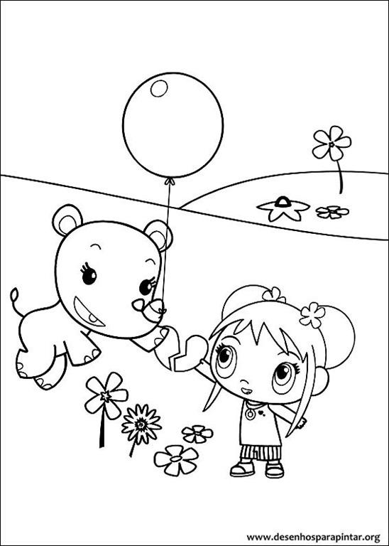 Ni Hao Kai Lan desenhos para imprimir colorir e pintar