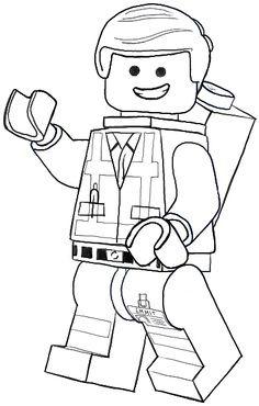 """Emmet, Batman e os personagens de """"Aventura Lego"""" o Filme"""
