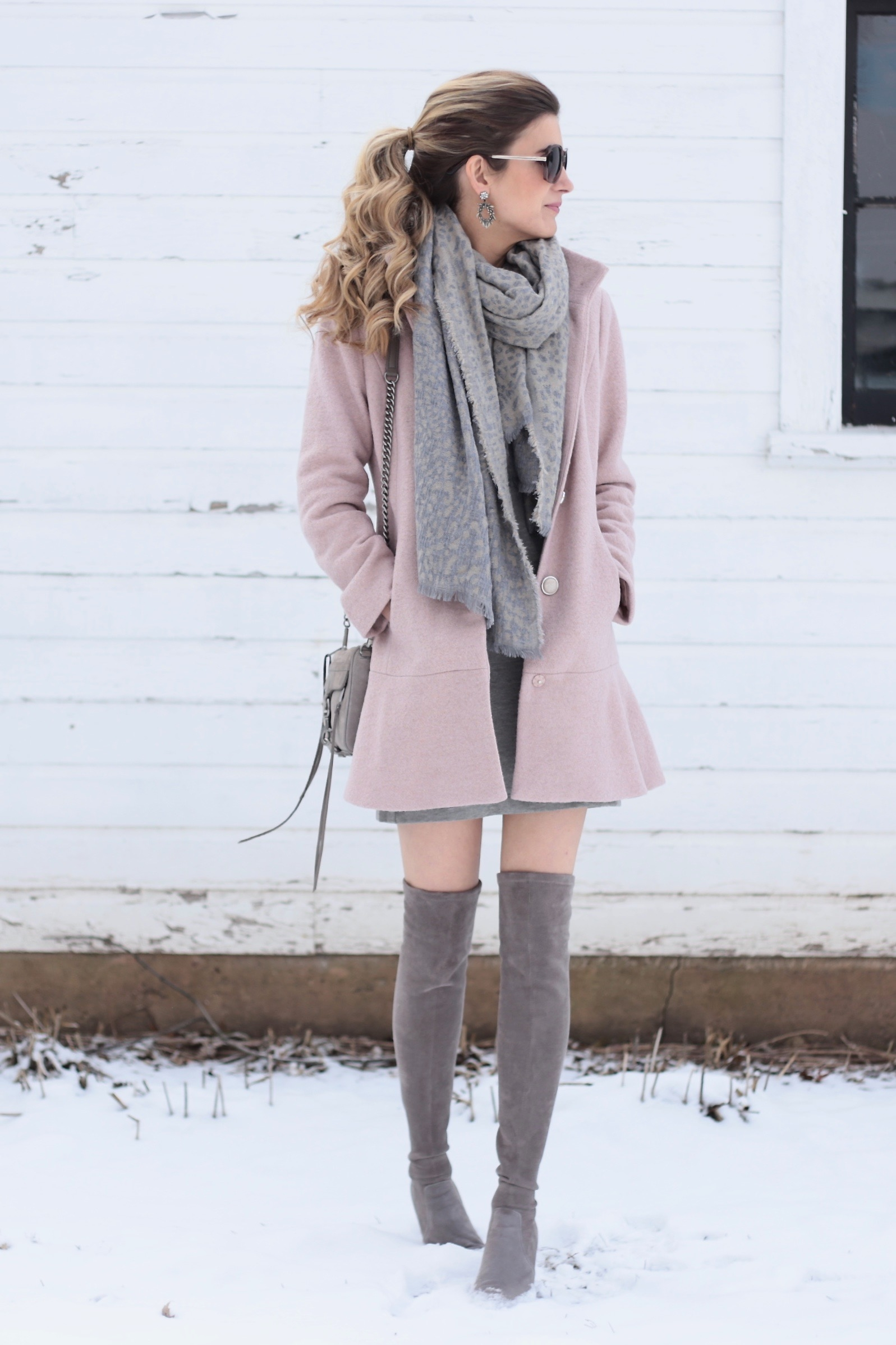 Casual Winter Dress and the Best Face Self Tanners to Carry you Through Winter