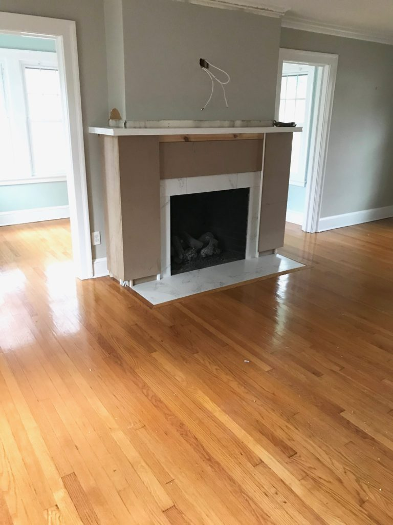 Fireplace Makeover Before and After Photos and Cost  Pinteresting Plans