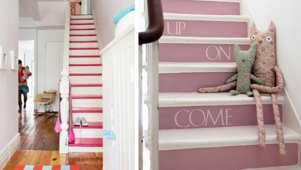 Ideas para pintar la escalera  PintoMiCasacom