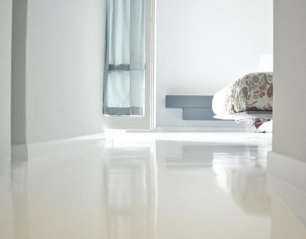 Porcelanato lquido o pavimento de resina epoxi para