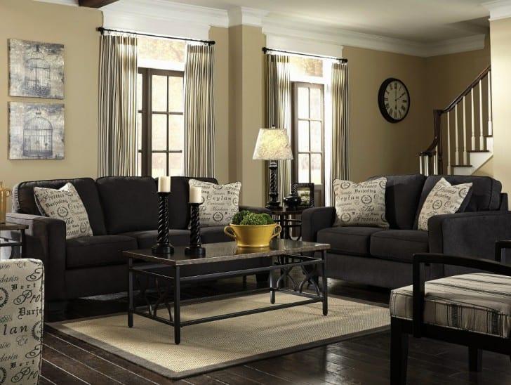 Cmo combinar tu sof negro  PintoMiCasacom