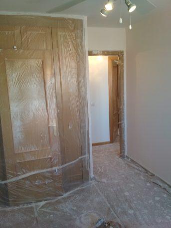 alisar las paredes