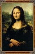 La Gioconda, pintura renacentista italiana por Leonardo.