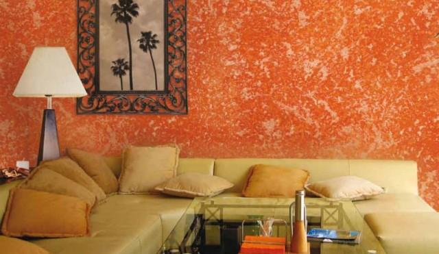 Tcnicas decorativas de Pinturas para muros y paredes