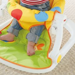 Sit Me Up Chair For Babies Art Deco Club Chairs Uk Fisher Price Giraffe Floor Seat With Tray