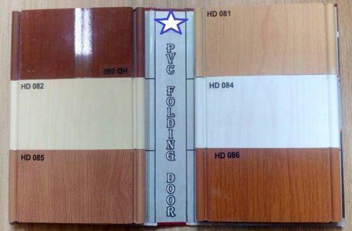 PVC warna tipe
