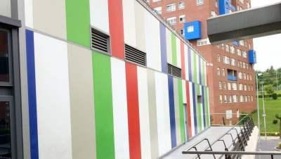 Trabajos pintura varios Max Center, Max Ocio y Megapark