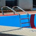 Suelo y piscina
