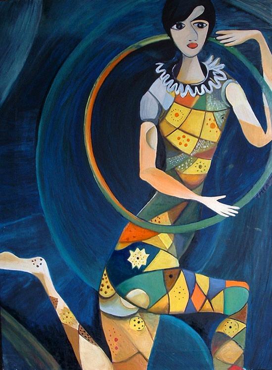 Acrbata de Marc Chagall  Pintura y Artistas  Pintura y