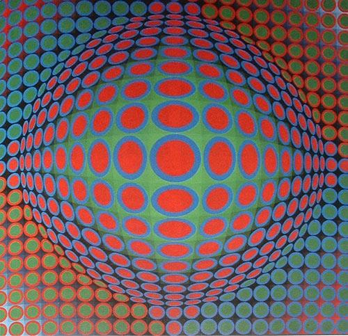 El Op Art y el Diseo Tridimensional  Pintura y Artistas