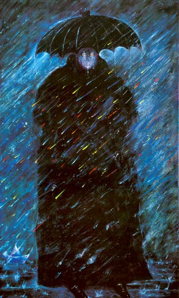 Pintar la lluvia  Pintura y Artistas