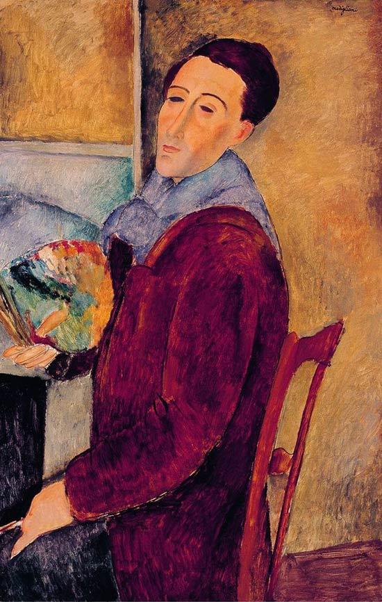 Autorretrato del pintor bohemio