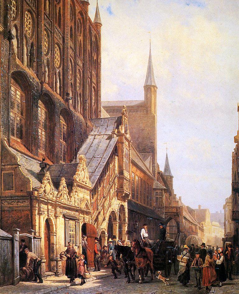Ejemplos de iluminacin  paisajes urbanos de Cornelis