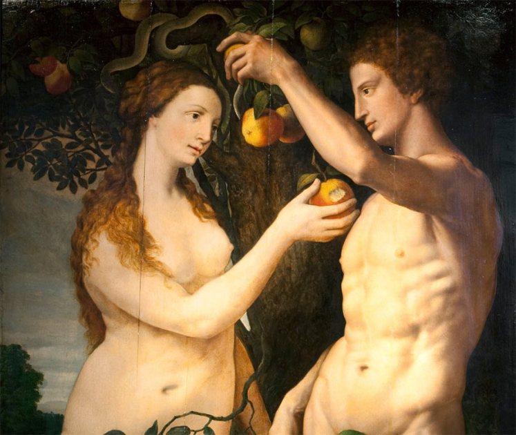 Resultado de imagen de ADAN Y EVA
